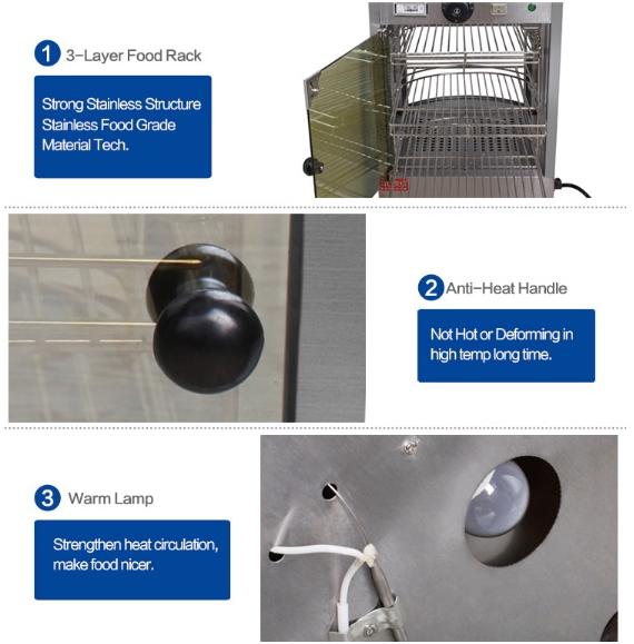 Mesin Warmer Kue Harga Hemat - MKS-P01 3 tokomesin malang