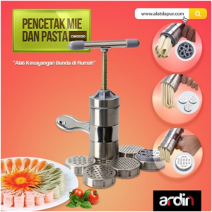 Jual Alat Cetak Mie dan Pasta Manual Stainless (ARDIN) di Malang