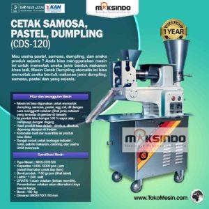 Jual Cetak Samosa, Pastel, Dumpling (CDS-120) di Malang