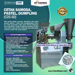 Jual Cetak Samosa, Pastel, Dumpling (CDS-60) di Malang