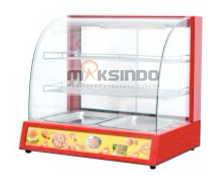 Mesin Diplay Warmer (MKS-2W) 1 tokomesin malang