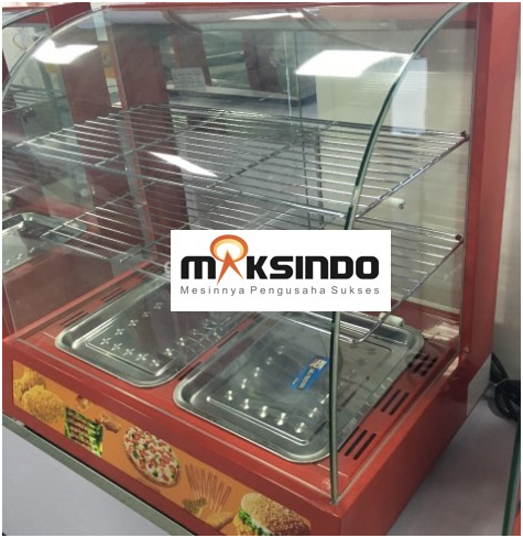 Mesin Diplay Warmer (MKS-2W) 4 tokomesin malang