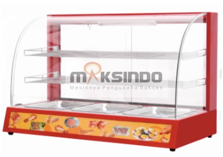Mesin Diplay Warmer (MKS-3W) 1 tokomesin malang