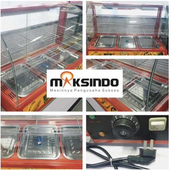 Mesin Diplay Warmer (MKS-3W) 2 tokomesin malang