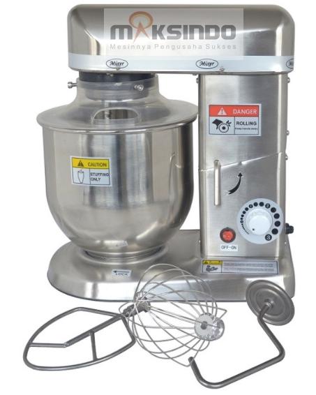 Mesin Mixer Planetary 5 Liter Stainless (SSP-5) 2 tokomesin malang