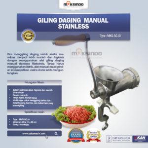 Jual Giling Daging Manual Stainless MKS-SG10 di Malang