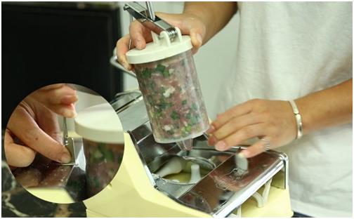 Alat Cetak Pastel Dumpling Manual 9 tokomesin malang