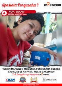 Jual Mesin Cetak Mie (MKS-200B) di Malang