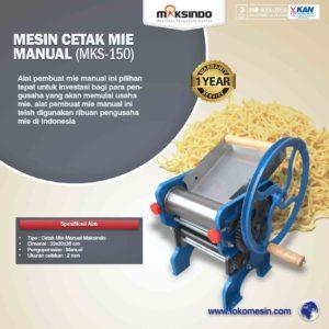 Jual Cetak Mie Manual Untuk Usaha (MKS-150) di Malang