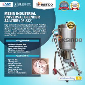 Jual Industrial Universal Blender 32 Liter di Malang
