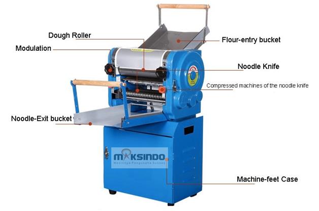 Mesin Cetak Mie Industrial (MKS-300) 6 tokomesin malang