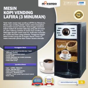 Jual Mesin Kopi Vending LAFIRA (3 Minuman) di Malang