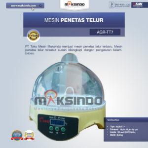 Jual Mesin Penetas Telur 7 Butir di Malang