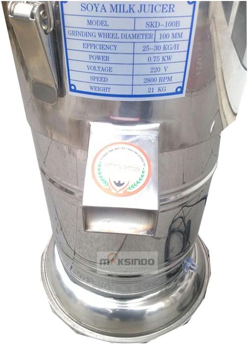 Mesin Susu Kedelai Stainless (SKD-100B) 5 tokomesin malang