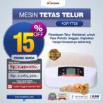 Jual Mesin Penetas Telur 56 Butir (AGR-TT56) di Malang
