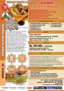 Training Usaha Jajanan Favorit dan Terlaris, 20 Mei 2017