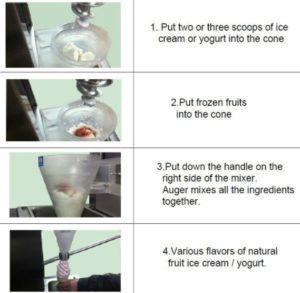 Jual Mesin Blender Es Krim Yogurt Multifungsi di Malang