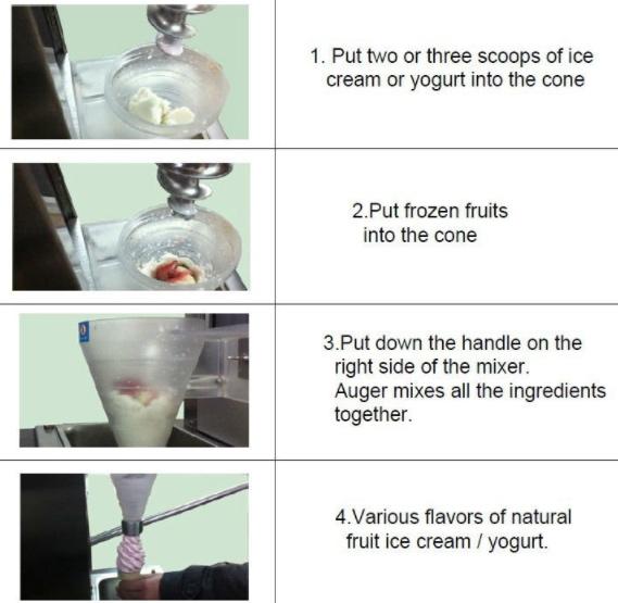 Mesin Blender Es Krim Yogurt Multifungsi 3 tokomesin malang