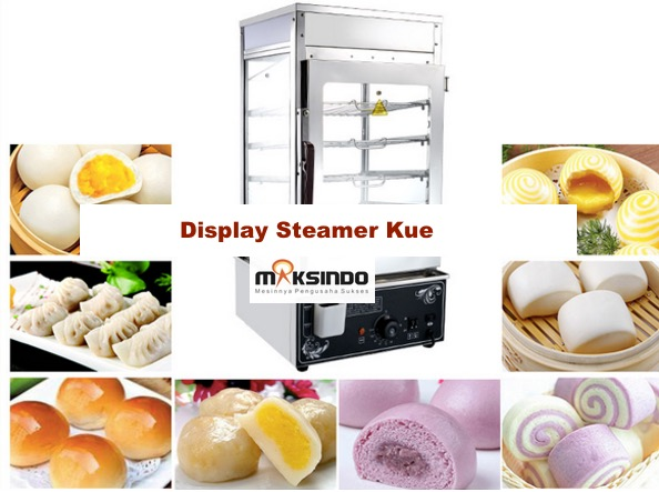 Mesin Display Steamer Bakpao - MKS-DW38 1 tokomesin malang