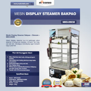 Jual Mesin Display Steamer Bakpao – MKS-DW38 di Malang