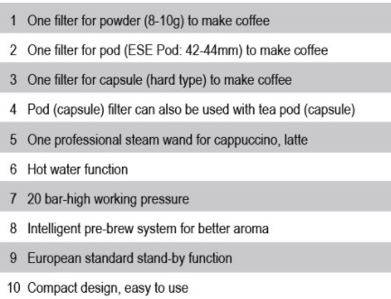 Mesin Kopi Espresso Semi Auto - MKP50 3 tokomesin malang