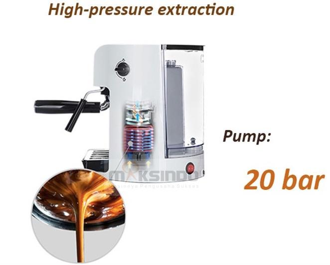 Mesin Kopi Espresso Semi Auto - MKP50 6 tokomesin malang