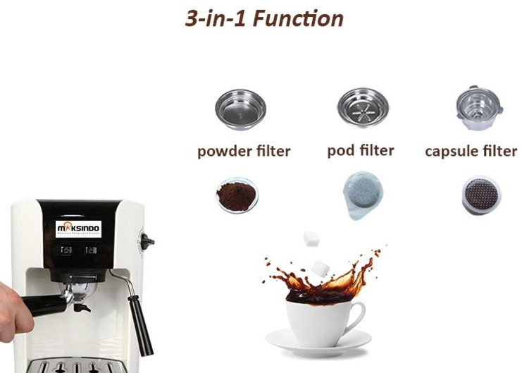 Mesin Kopi Espresso Semi Auto - MKP50 7 tokomesin malang