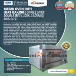 Mesin Oven Roti (Gas baking) MKS - GO11