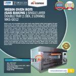Mesin Oven Roti (Gas baking) MKS - GO12
