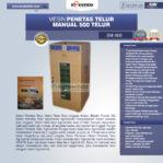 Jual Mesin Penetas Telur Manual 500 Telur (EM-500) di Malang