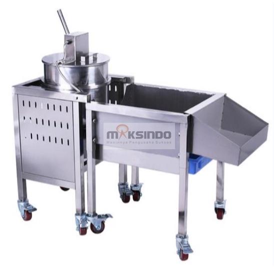 Mesin Popcorn Caramel (Gas) - MKS-CRM300 3 tokomesin malang