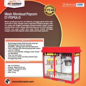 Jual Mesin Pembuat Popcorn (POP11) di Malang