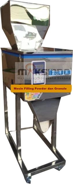 Jual Mesin Filling Tepung dan Biji (20-1200gr) di Malang