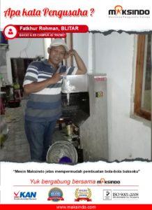 Jual Mesin Cetak Bakso MF-C280B di Malang