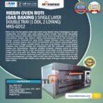Jual Mesin Oven Gas 2 Loyang (MKS-GO12) di Malang