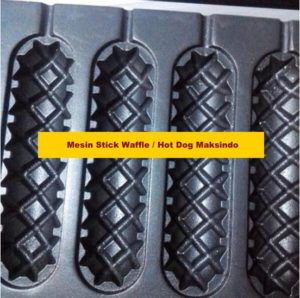 Jual Mesin Stick Waffle (hot dog wafel) di Malang