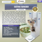 Jual Mesin Cetak Bakso MCB300B di Malang