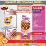 Paket Usaha Egg Waffle (Listrik) Program BOM