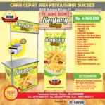 Paket Usaha Kentang Krispy Program BOM