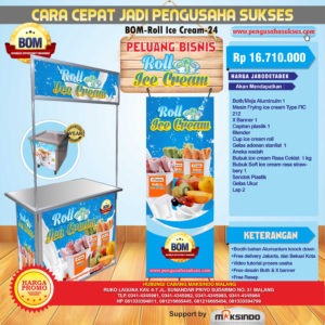 Paket Usaha Roll Ice Cream Program BOM