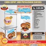 Paket Usaha Sweet Dorayaki (Gas) Program BOM