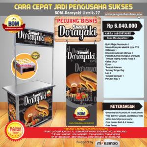 Paket Sweet Dorayaki (Listrik) Progam BOM