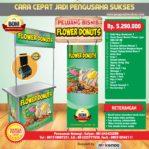 Paket Usaha Flower Donuts Program BOM