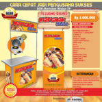 Paket Usaha Martabak Minion Program BOM