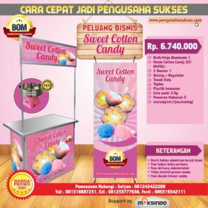 Paket Usaha Catton Sweet Drinks Program BOM