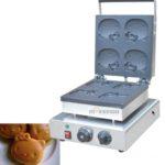 Mesin Cetak Kue atau Waffle Bentuk Hello Kity (Kitty1) 2 tokomesin malang