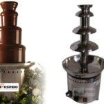 Mesin Chocolate Fountain 4 Tier (MKS-CC4) 1 tokomesin malang