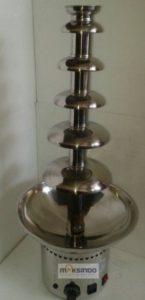 Jual Mesin Chocolate Fountain 6 Tier (MKS-CC6) di Malang