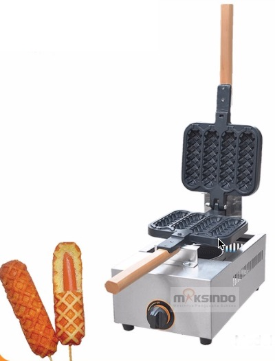 Jual Mesin Gas Stick Waffle (Hot Dog Waffle) – SW04 di Malang