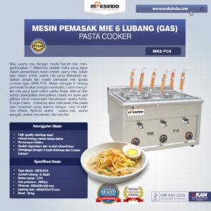 Jual Mesin Pemasak Mie 6 Lubang (Gas, MKS-PC6) di Malang